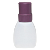 Euro-Style HDPE Bottle with Purple Twist-Lock Pump, 8 oz - Part No. 35232
